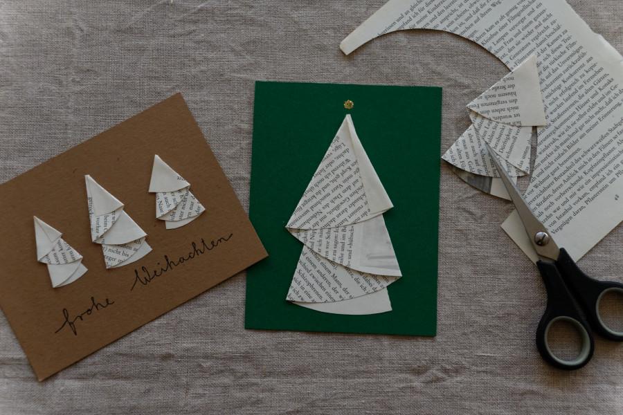 diy weihnachtskarten gestalten ein kleines tutorial. Black Bedroom Furniture Sets. Home Design Ideas