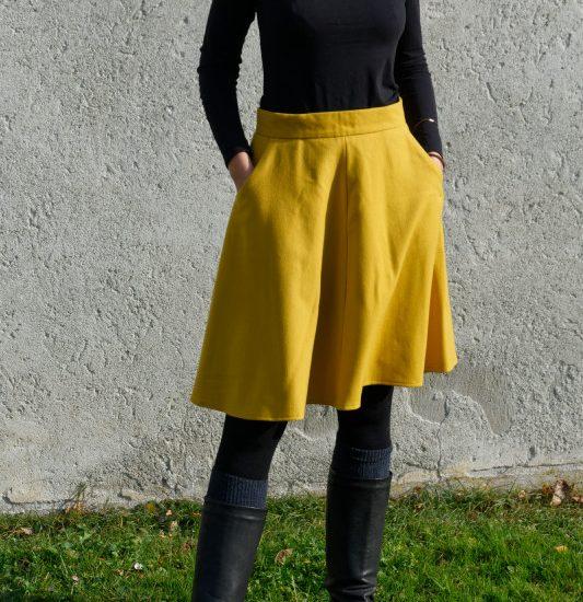 gelber hollyburn skirt sewaholic