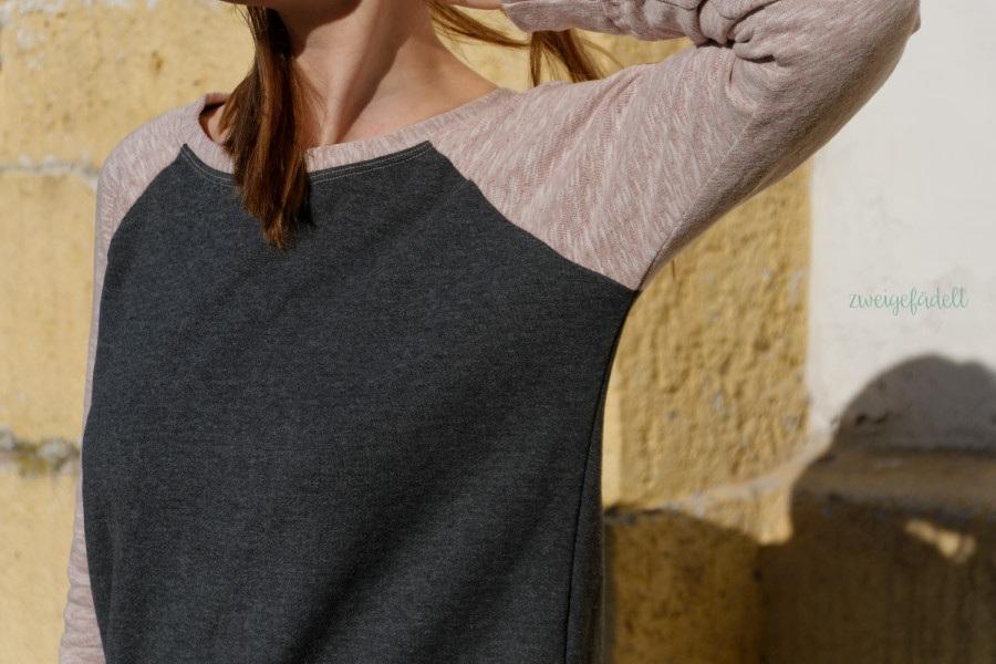Linden Sweater, Grainline Studio, Bio-Stoff, Stoffreste